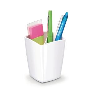 Pennhållare för whiteboard Cep Gloss, magnetisk, vit