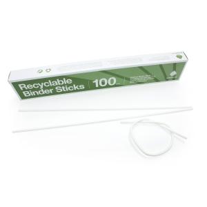 PAPPERSBINDARE D750610 ECO VIT 100 ST/FP