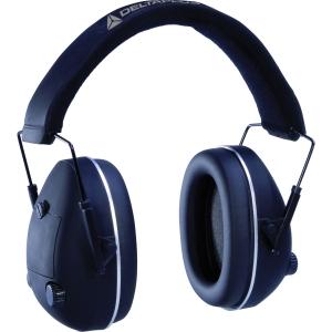 Hörselkåpa Deltaplus Pit Stop SNR 26 dB svart