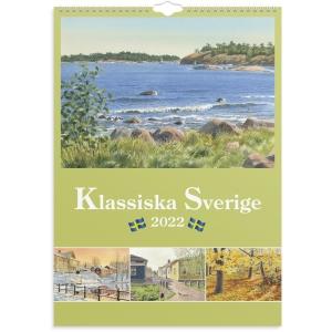Kalender Burde 91 1733 Klassiska Sverige 297 x 420 mm