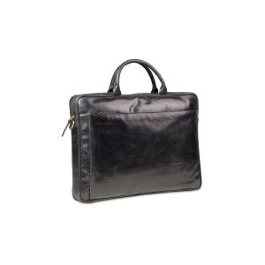 Väska d.bramante skinn till 16  svart