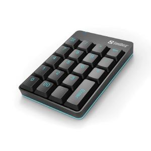 Tangentbord numeriskt Sandberg 630-05 trådlöst