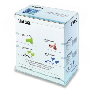Hörselpropp med snöre Uvex Hi-Com Detec, 100 par/fp
