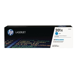 LASERTONER HP CF401X 201X CYAN