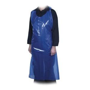 Förkläde Abena LDPE 35my 85x150cm blå, 500 st/fp