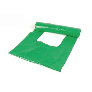 Avfallspåsar rulle25 ld30l 28/17x53cm gröna