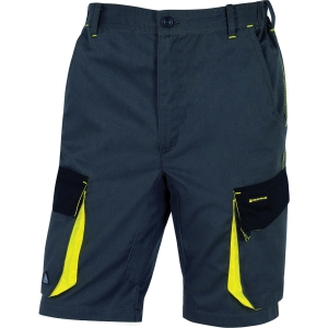 Shorts Deltaplus DMACH grå/gul l