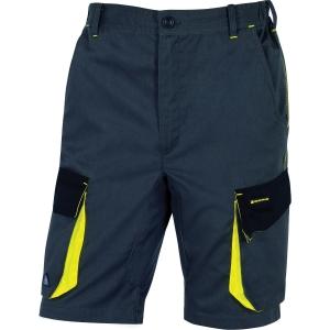 Shorts Deltaplus DMACH grå/gul xxl