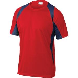 T-shirt Deltaplus Bali röd/grå xxl