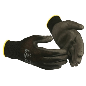 Handskar Skydda Guide 525 PU-belagd stl. 7, 12 par/fp