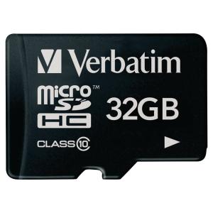 MICRO SDHC VERBATIM CLASS 10 32GB
