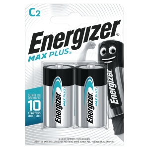BATTERI ENERGIZER ALKALINE ADVANCED C/LR14 2 ST/FP