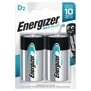 BATTERI ENERGIZER ALKALINE ADVANCED D/LR20 2 ST/FP