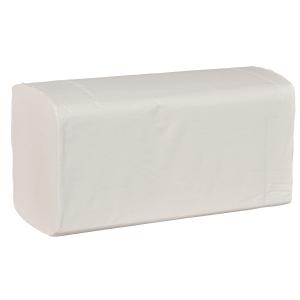 Pappershandduk Abena, 2-lagers, multifold, vit, förp. med 20x200ark