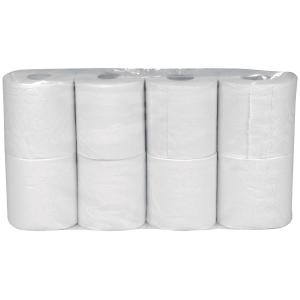 Toalettpapper Abena 2 lager vit 64 st/fp