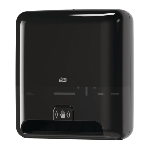 Dispenser Tork H1 Matic Sensor, för torkpapper, svart