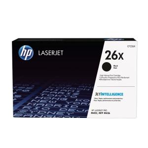 Lasertoner HP 26X CF226X 9 000 sidor svart