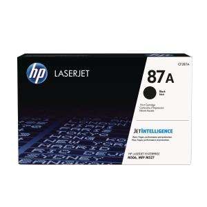 LASERTONER HP CF287A 9K SVART