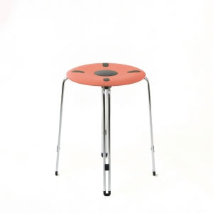SPACE 460 STOOL HEIGHT 460MM  CORAL