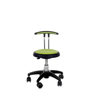 ARBETSSTOL NEW STAR 525 STOL MED HÖG T-RYGG MEDIUM LIME
