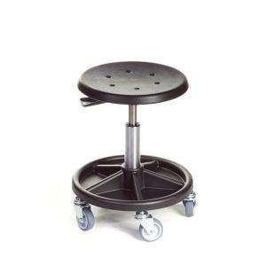 Industristol Ufo, medium, svarta hjul