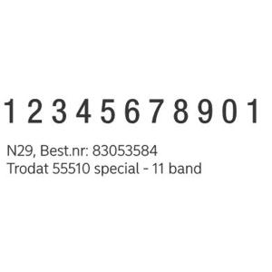 /NORDEA NUMMERSTÄMPEL - N29