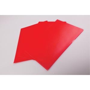 Mapp Lyreco, 145 my, röd, förp. med 25 st