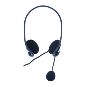 /MEDIARANGE PC NECK HEADSET BLACK/SILVER