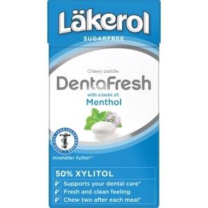 Läkerol Denta Fesh Menthol 36 gram