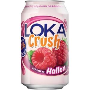 Loka Crush Hallon 33 cl kartong med 24 st - priset är inkl. pant