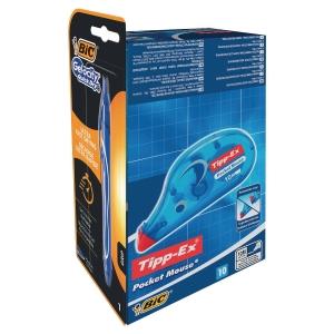 Tipp-ex pocket mouse 10 st/fp + pk4 BIC cris
