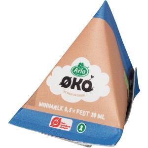 Ekologisk lättmjölk Arla Harmonie, 20 ml, förp. med 100 st