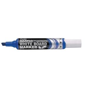 Whiteboardpenna Pentel Maxiflo, sned spets, blå