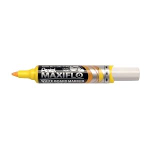 Whiteboardpenna Pentel Maxiflo, sned spets, gul