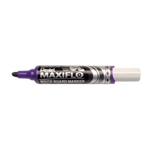 Whiteboardpenna Pentel Maxiflo, sned spets, violett