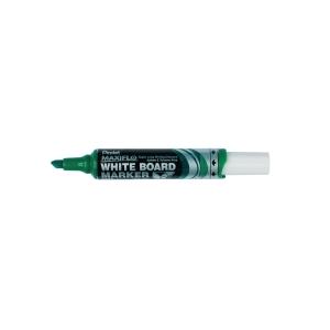 Whiteboardpenna Pentel Maxiflo, sned spets, grön