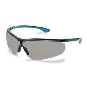 Skyddsglasöga Uvex Sportstyle 9193 grå linser blå/svart