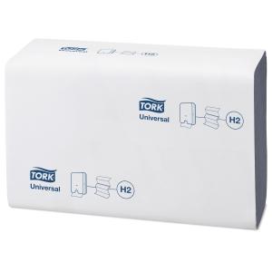 Pappershandduk Tork H2 Universal, blå, förp. med 20x237ark