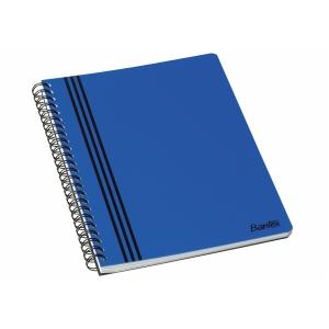 Kollegieblock Bantex Strong-Line, A5+, linjerat, blått