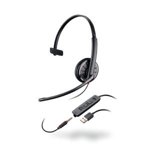 PLANTRONICS BLACKWIRE C3215 USB-A HEAD