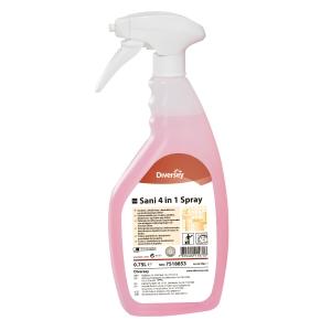 Sanitetsrengöring Taski 4-in-1 Spray 0,75 l