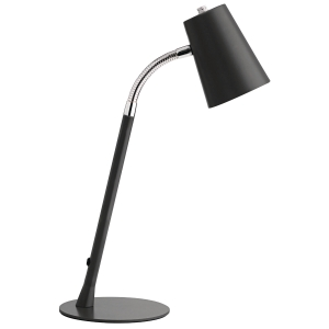 BORDSLAMPA UNILUX FLEXIO LED SVART