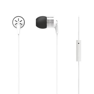 Hörlurar Koss keb25ik In-Ear med mikrofon vit