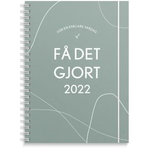Kalender Burde 91 1220 FÅ DET GJORT VECKA A5