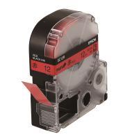 엡손 라벨테이프 SC12R PX 빨강/검정 12mm