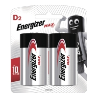 ENERGIZER 에너자이저 MAX D타입 건전지 1.5V 2입