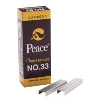 평화 33 스테이플러 침 단침 5000개입
