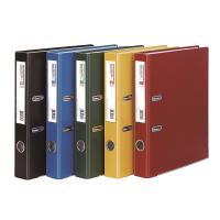 문화 레버아치 바인더 B841-7 A4 50MM 검정 세로형