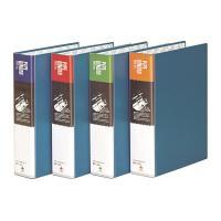 문화 2공 파이프 바인더 B862-7A A4 70MM 파랑 세로형