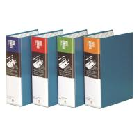 문화 2공 파이프 바인더 B864-7A A4 90MM 파랑 세로형